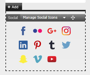 Social Icons Screenshot